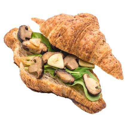 Cara Onion And Grd Mushroom Croissant Sandwich - Emporio Patisserie