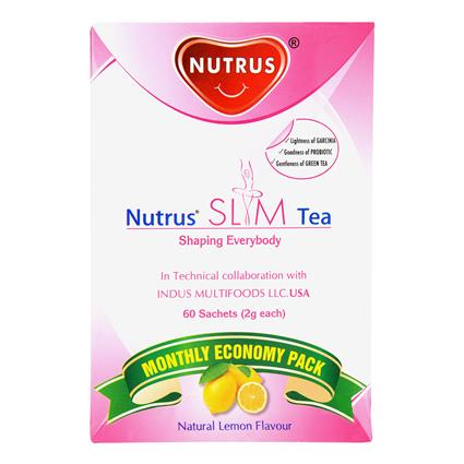 Slim Tea Natural Lemon Flavour - Nutrus