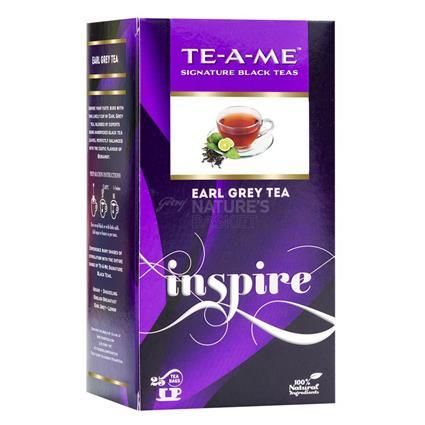 Inspire Earl Grey Tea  -  25 TB - TE-A-ME