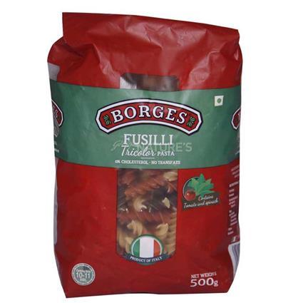 Fusilli Tricolor Pasta - Borges