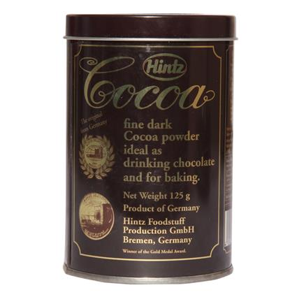 HINTZ COCOA TIN 125G
