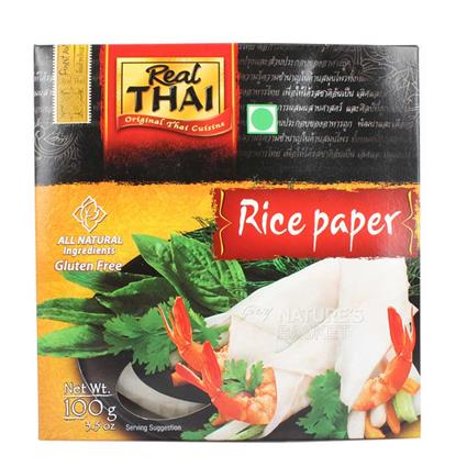 Rice Paper Round  -  16Cm - Real Thai