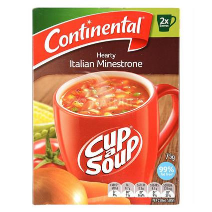 Hearty Italian Minestrone Soup - Continental