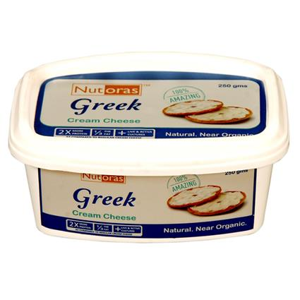 Greek Cream Cheese - Nutoras