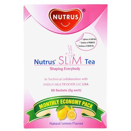 Slim Tea Natural Lemon Flavour - Nutrus