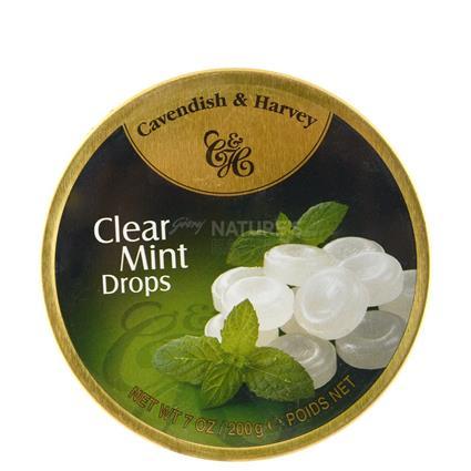 Clear Mint Drops - Cavendish & Harvey