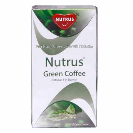 Instant Green Coffee W/ Probiotics & Natural Fat Burner  -  20 TB - Nutrus