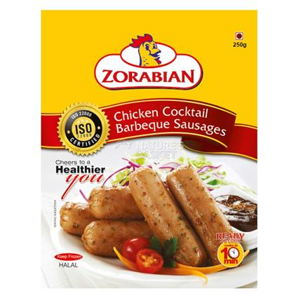 Chicken Cocktail Barbeque Sausages - Zorabian