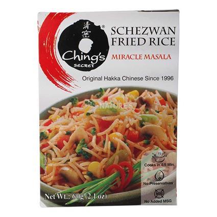 Schezwaan Fried Rice  -  Miracle Masala - Chings