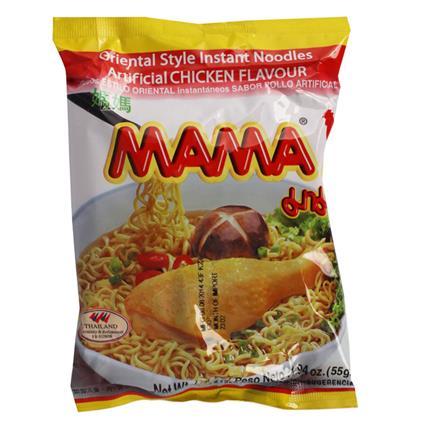 MAMA NOODLES CHICKEN FLVR 55G