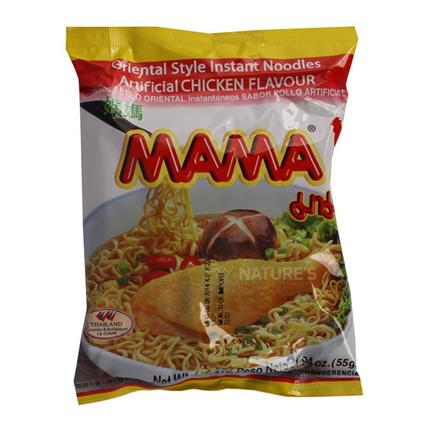 Oriental Style Instant Noodles  -  Chicken Flavour - Mama