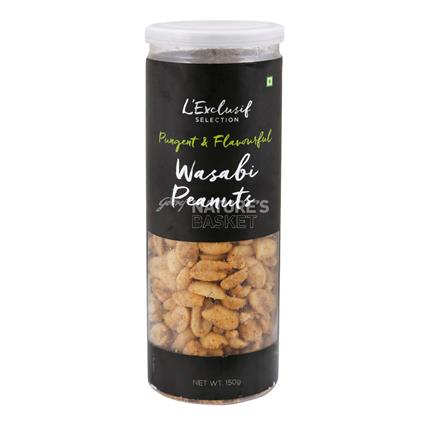 Flavoured Peanuts  -  Fiery Wasabi  Flavour - L'exclusif