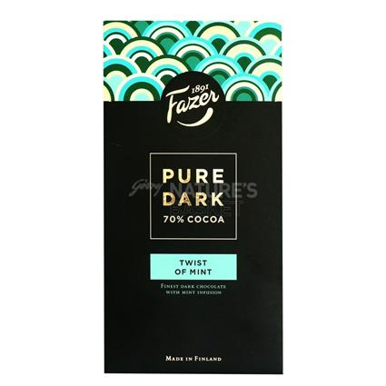 Pure Dark Twist Of Mint Chocolate - Karl Fazer