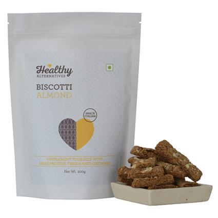Biscotti Almond - Healthy Alternatives