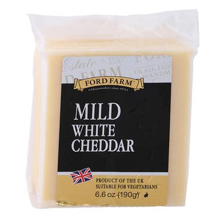 Mild White Cheddar Cheese - Ford Farm