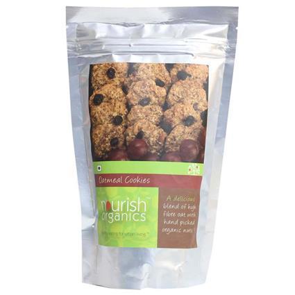 Oatmeal Cookies - Nourish Organics
