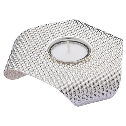 Interweave Triagle Tea Light Holder - Shaze