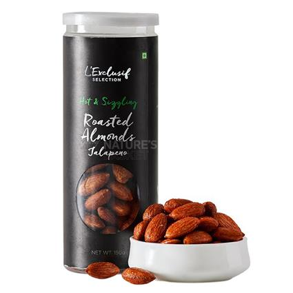 Roasted Jalapeno Almonds - L'exclusif