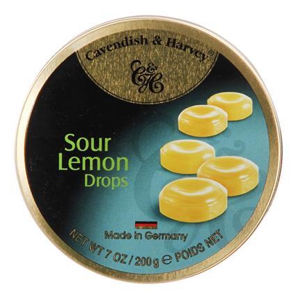 Sour Lemon Drops Candy - Cavendish