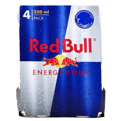 Energy Drink - Pack Of 4 - Red Bull