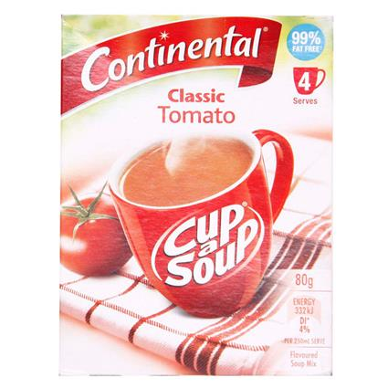 CONTINENTAL CUP A SOUP TOMATO 80 G