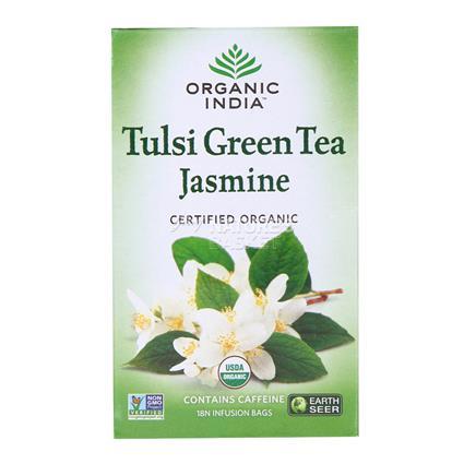 Tulsi Green Tea Jasmine - Organic India