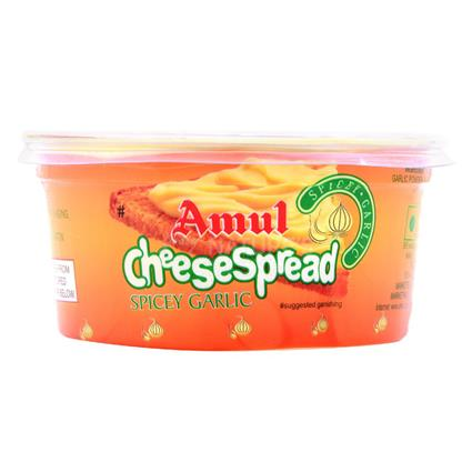 AMUL CHEESE SPREAD SPICE GARLIC 200G