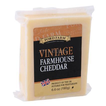 Vintage Farmhouse Cheddar Cheese - Ford Farm