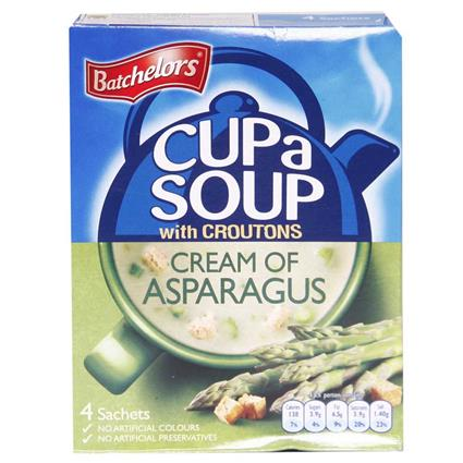 Cup A Soup W/ Croutons Cream Of Asparagus - Batchelors