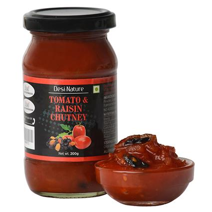 Tomato & Raisin Chutney - Desi Nature