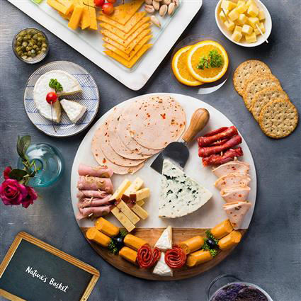 Meatilicious Cheese Platter  - Gift Hamper