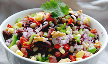 Tasty 3 Bean Chaat