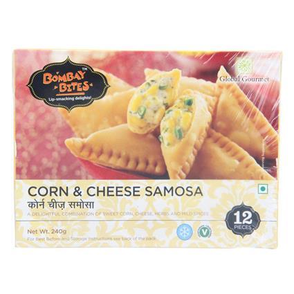 Corn & Cheese Samosa - Bombay Bites