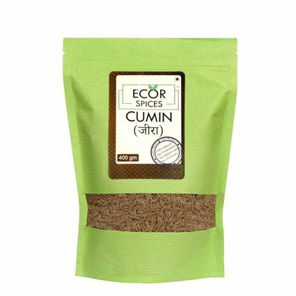 ECOR SPICES CUMIN WHOLE 400GM