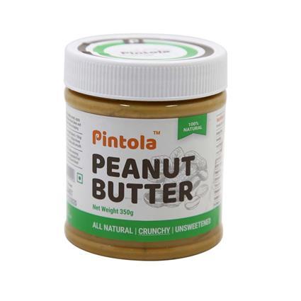 PINTOLA ALL NTRL PEANUT BUTR CRUNCHY350G