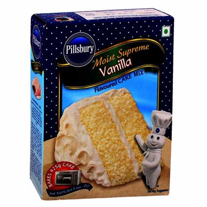 Moist Supreme Cake Mix  -  Vanilla - Pillsbury