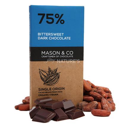 MASON N CO 75 PERC BITTERSWEET CHOCO 60G