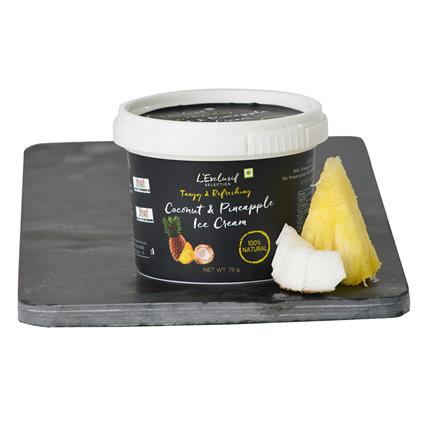 Coconut Pineapple Icecream - L'exclusif