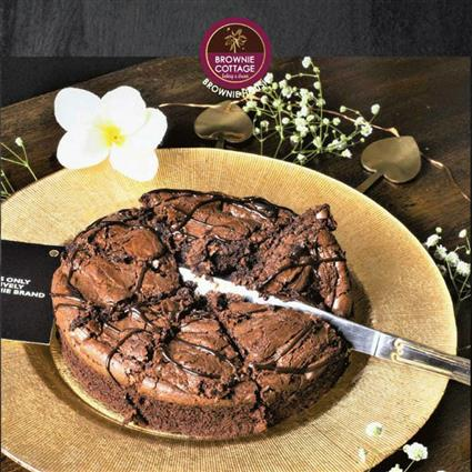 BROWNIE COTTAGE BROWNIE CAKE 500G