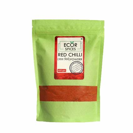 ECOR SPICES RED CHILLI POWDER 400GM