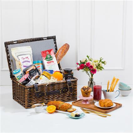 A Breakfast Basket - Gift Hamper