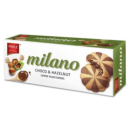 Milano Centre Filled Cookies- Choco Hazelnut - Parle