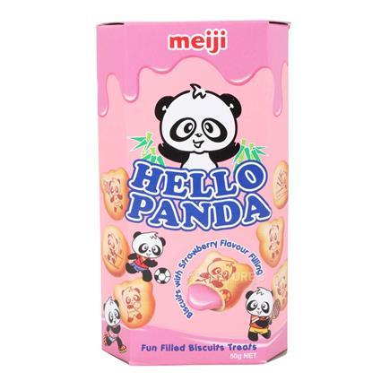 HELLO PANDA STRAWBERRY BISCUIT 50G