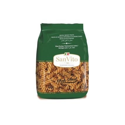 SAN VITO PASTA WHO WHEAT FUSILLI 500G