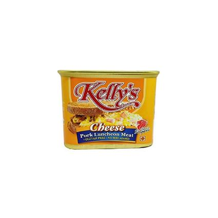 KELLYS LUNCHEON MEAT CHEESE 340G