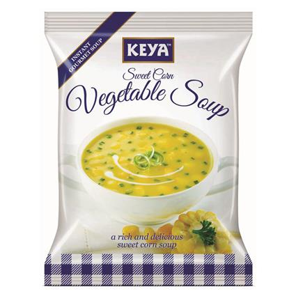 Instant Soup - Sweet Corn Vegetable - Keya