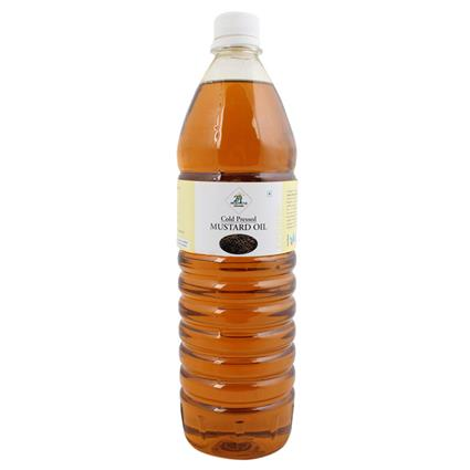 Mustard Oil  -  Cold Pressed - 24 Mantra Organic