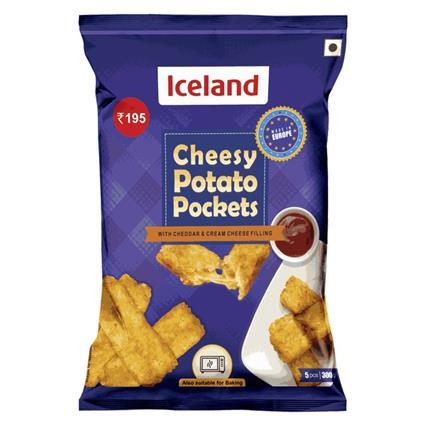 ICELAND CHEESY POTATO POCKETS 300 G