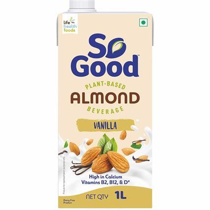 So Good Almond Milk Vanilla Flavour 1000 ml