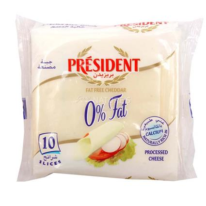 Cheddar Cheese  -  Fat Free - President